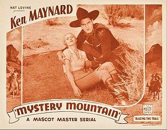 Mystery Mountain (serial) - Lobby card