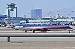 N468AA American Airlines 1988 McDonnell Douglas MD-82 - cn 49598 - ln 1513 (14237337916).jpg