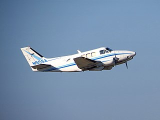 Beechcraft Queen Air family of utility transport aircraft