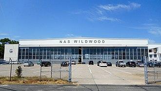 Naval Air Station Wildwood Aviation Museum - Image: NAS Wildwood Hanger 1 NRHP