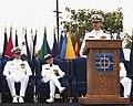 NAVFAC EXWC Change of Command ceremony, Naval Base Ventura County, Port Hueneme, Calif. - July 26, 2013 (9410351851).jpg