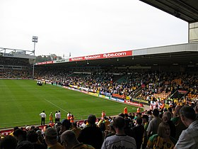 L'enceinte sportive Carrow Road en 2007