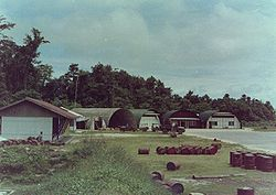 Kaimana Airport strip, 1962.