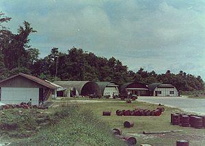 Kaimana - Kaimana Airport strip, 1962.