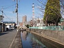 Nagase river, Higashiosaka, Osaka01.JPG