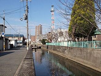 Higashiōsaka - Nagase River in Higashiōsaka