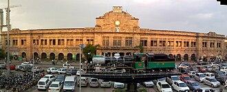 Central Railway zone - Nagpur Railway Station at Nagpur.