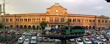 Nagpur Railway Station.