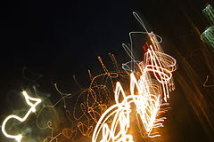 Nairobi nightlife, High exposure fireworks.JPG