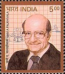 Nanabhoy Palkhivala 2004 stamp of India.jpg