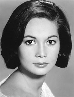 Nancy Kwan Chinese-American actress