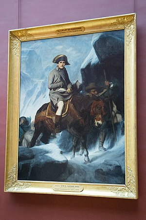 Napoleon crossing the Alps in the Louvre.jpg