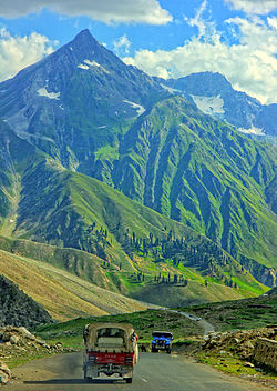 Road to Naran Valley.