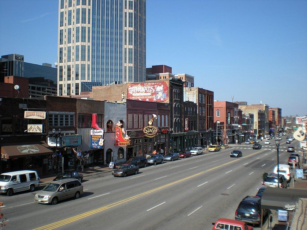 File Nashville Downtown Jpg Wikimedia Commons