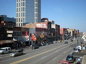 Nashville, Tennessee - Downtown Nashville