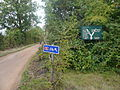 National Cycle Route 23 signs near Blackwater.JPG