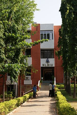 National Law School of India University, Bangalore, India - 20130524-01