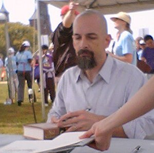 Neal Stephenson - Stephenson at the National Book Festival in 2004