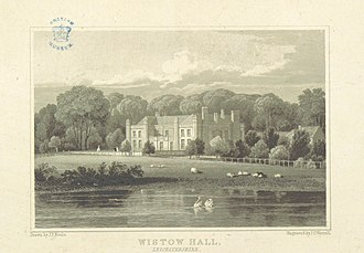Wistow, Leicestershire - Wistow Hall in 1818