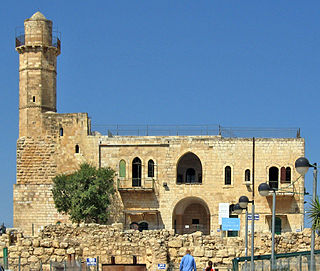 Tomb of Samuel Ancient site in Palestine