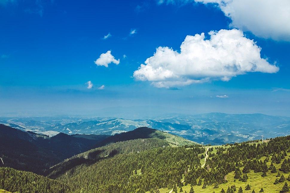 Nebo iznad Kopaonika