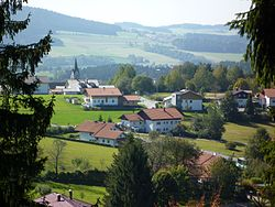 Panorama of Neuschönau Municipality.