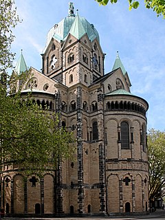 Basilica of St. Quirinus, Neuss Church in Neuss, Germany