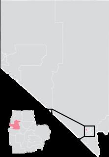 Nevadas 6th Senate district American legislative district