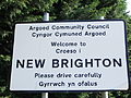 New Brighton, Flintshire sign - DSCF1183.JPG