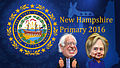 New Hampshire Primary Bernie Sanders vs. Hillary Clinton - Caricatures.jpg