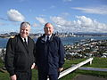 New Zealand RADM Tony Parr on historic Mount Victoria.jpg