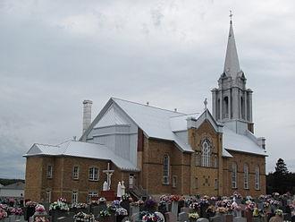 Chandler, Quebec - Image: Newport Church 1