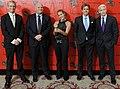 Nic Robertson, Tony Maddox, Arwa Damon, Ivan Watson, and Anderson Cooper, May 2012.jpg