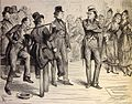 "Nicholas Nickleby, (1875?) """"But they shall not protect ve! said the tragedian..."" (3986244487).jpg"