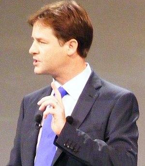 Nick Clegg makes the Liberal Democrats' Leader...