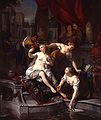 Nicolaas Verkolje - Bathseba door David bespied tijdens haar toilet 1716.jpg