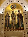 Nicolas II and Serbian Saints.jpg