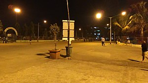 Bhayandar - Night view at Jesal Park Chowpatty Bhayandar (East)