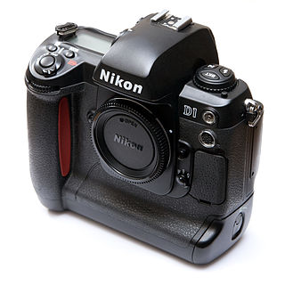 Nikon D1 Digital single-lens reflex camera