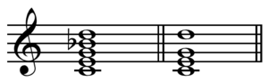 Ninth chord - Image: Ninth vs added ninth chord