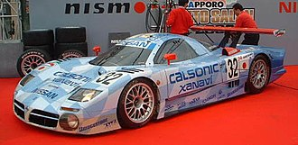 Gran Turismo 2 - The Nissan R390 was one of the Le Mans race cars introduced to the game