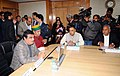 Nitin Gadkari at a meeting to discuss LTIF funding of Water Resources projects through NABARD with representatives of 18 states granted approval for LTIF funding, in New Delhi.jpg