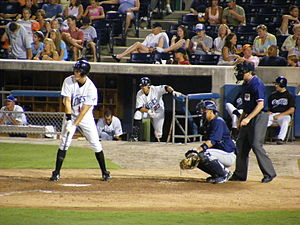 Norfolk Tides - The Tides at bat