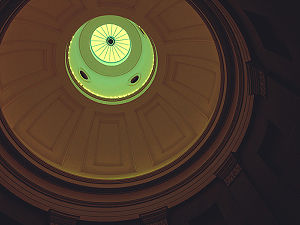 David Paton (architect) - North Carolina State Capitol: Interior view of Paton's dome