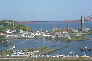 North Queensferry - Image: North Queensferry, Firth of Forth