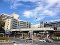 Northern Busway, Brisbane along Bowen Bridge Road.JPG