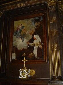 De Notre Dame-du-Laus (Sanctuaire - 7) - Retrato de Benoîte Rencurel.jpg