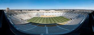 Notre Dame Stadium - Notre Dame Stadium Panorama