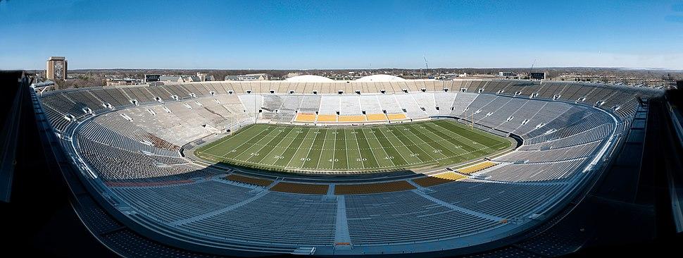 Notre Dame Stadium Panorama