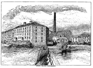 Nuns Island Distillery Irish whiskey distillery in Galway